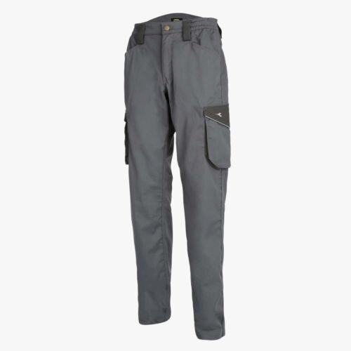 Pantaloni da lavoro Diadora Utility STAFF multitasche unisex 250gr//m² Grigio