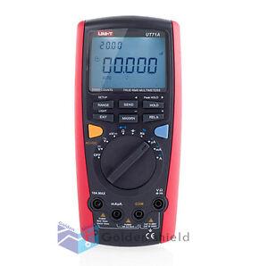 UNI-T-UT71A-True-RMS-USB-DMM-Digital-Multimeter-AC-DC-Volt-Amp-Ohm-Cap-Tester