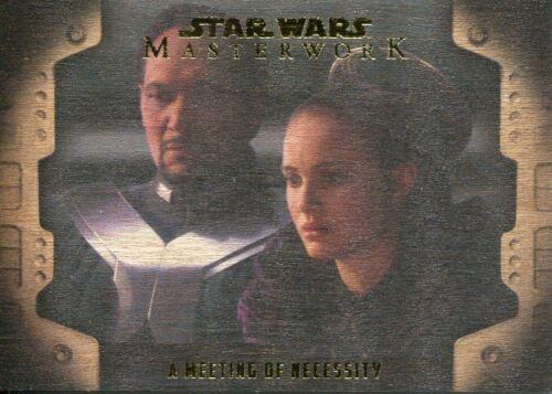 Star Wars Masterwork 2017 Wood 50 Evolution Of The Rebel All Chase Card LP-1