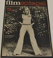 FILMSPIEGEL 31. JULI 1974 - KARLA CHADIMOVE  (FS 189)