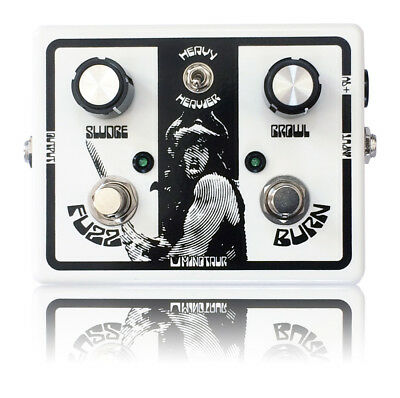 minotaur fuzz burn effect pedal guitar bass doom stoner overdrive heavy metal ebay. Black Bedroom Furniture Sets. Home Design Ideas