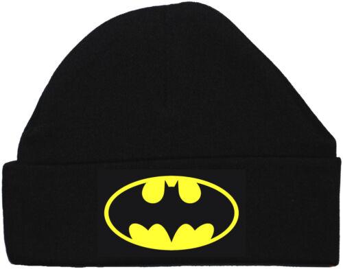 24M unisexe garçons//filles batman acce cadeau Chauve-souris baby beanie hat//cap nouveau-né