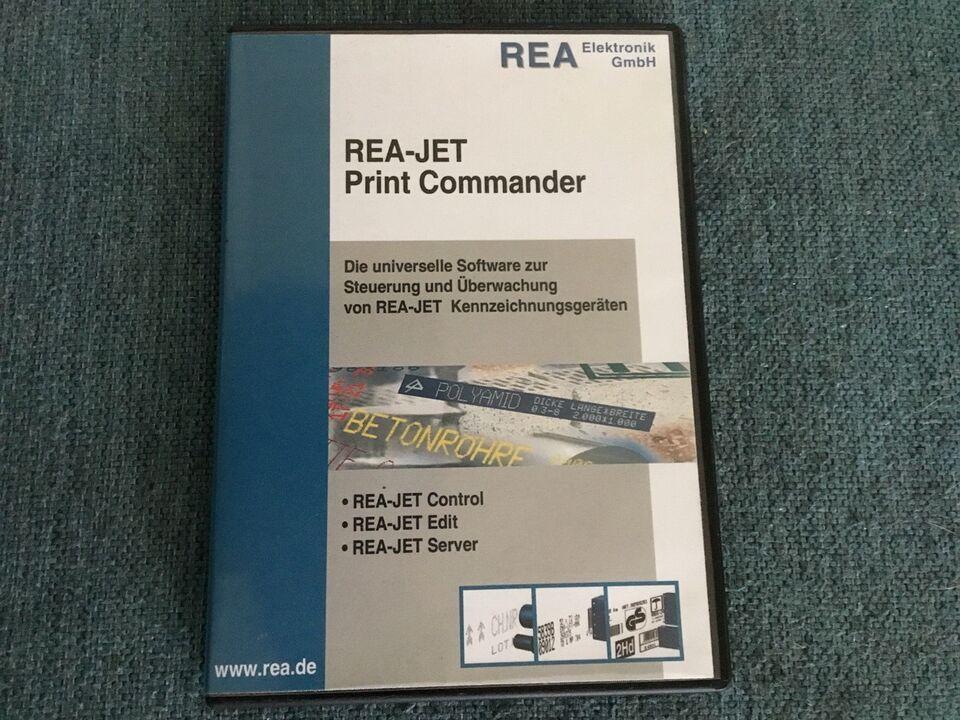 REA-JET Print Commander, Printer