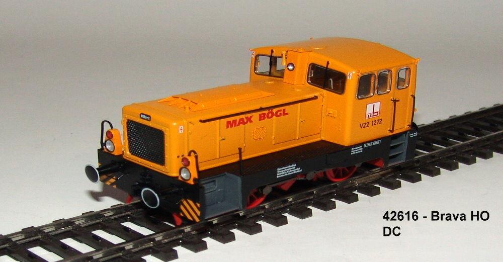 BRAVA 42616 - Vagone Diesel Baureihe V 22 der   MAX BEDDA  , EPOCA VI, DC