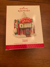 Noelville Cinema Hallmark Keepsake Ornament 2013 Lighting Effect Qx9115