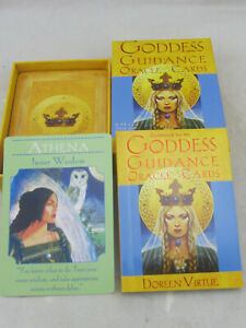 Goddess Guidance Oracle Cards by Doreen Virtue (2004, Cards,Flash Cards)