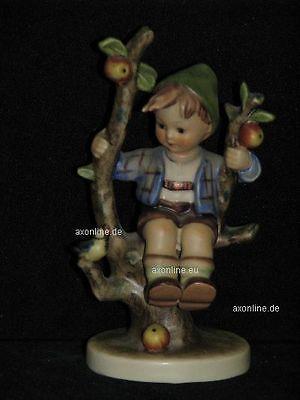 Nr Hummel // Goebel HERBST Junge auf Apfelbaum 142 3//0
