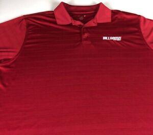 Hillgrove Hawks Football Polo Shirt Mens 2XL Dri-Fit Georgia School Student Grad
