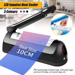 Impulse-Heat-Sealer-Plastic-Bag-Film-Sealing-Packing-Machine-Food-Storage-100mm