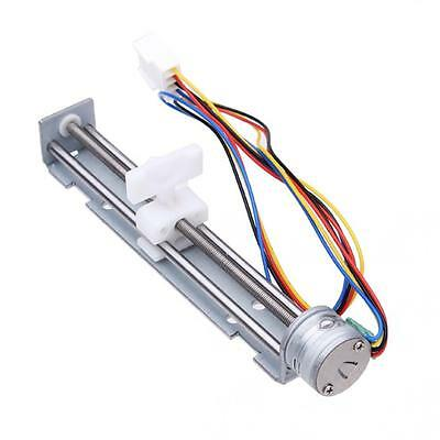 2 Phases 4 Wires DC 4~9V 18 Degrees Drive Stepper Motor Screw with Nut Slider