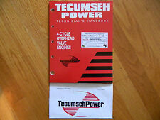 NEW Tecumseh engine Overhead Valve Repair service manual  Bolens,Sears,Craftsman