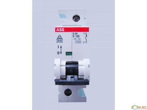 Interruttore magnetotermico ABB C125 S291
