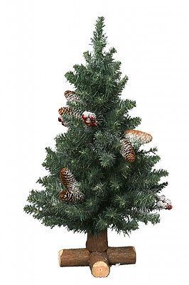 Kaemingk Sherwood Frosted Mini Tree 60cm Christmas Tree