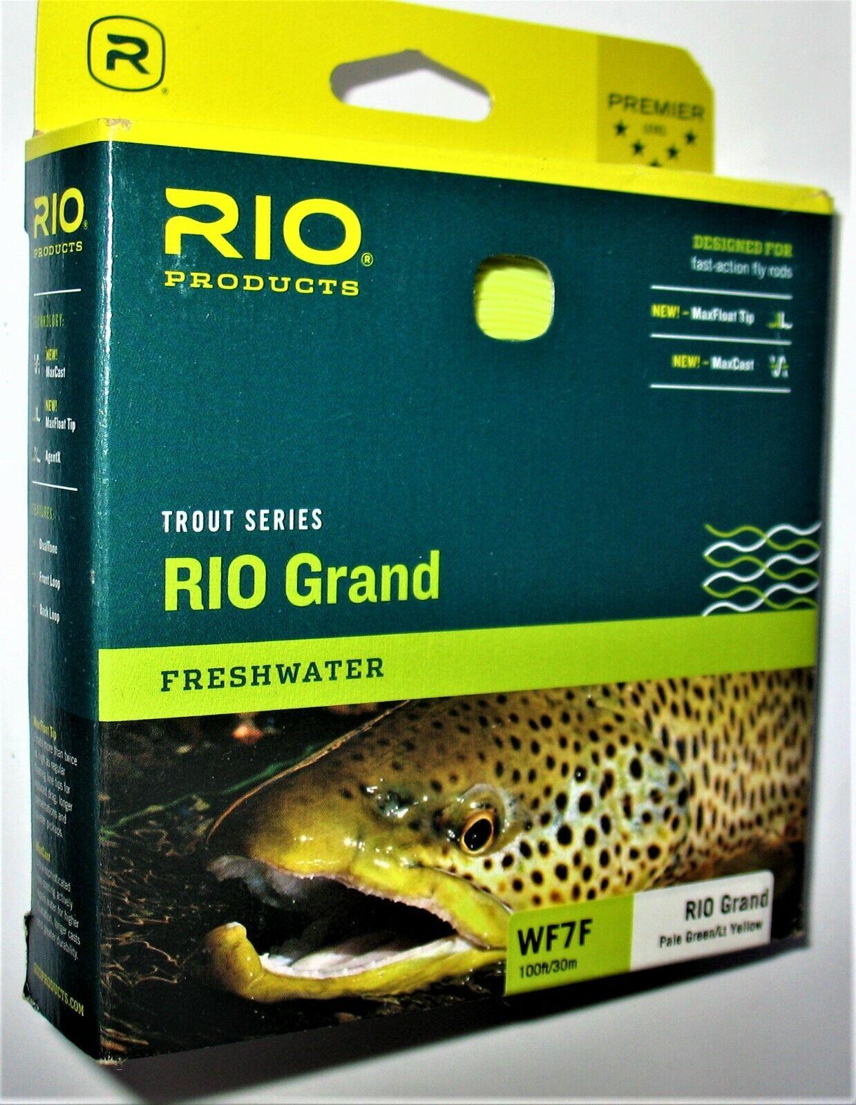 RIO TROUT SERIES RIO Gre WF7F & WF8F gratuito WARP SPEED SHIPPING FREAKY FASSTTT