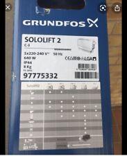 Motor Kleinhebeanlage Grundfos Sololift2 C-3  motor Sololift2 97775342