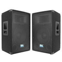 Seismic Audio Pair Audio 12 Inch Pa Speakers Karaoke/concert Speaker on sale