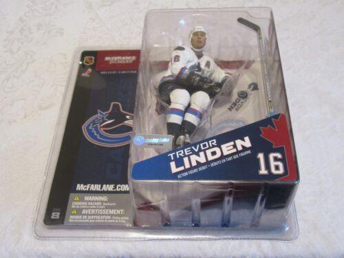 McFarlane NHL Series 8 Trevor Linden Canucks Action Figure