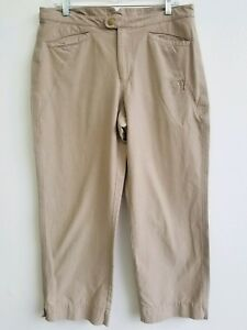 Columbia-Sportswear-Women-039-s-Authentic-Issue-Size-14-Khaki-Ankle-Pants
