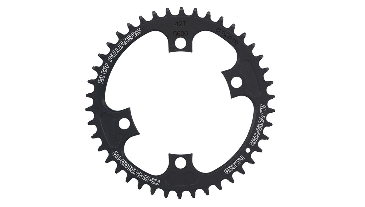 FOURIERS BCD 110 Chainring Road Bike Chainwheel For Shimano Ultegra 6800 Crank