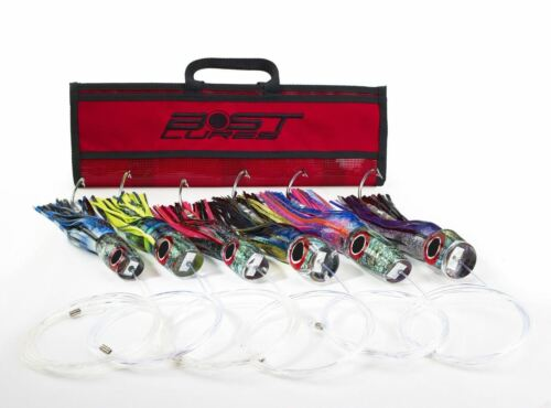 Large Marlin Lure Pack by Bost RiggedUnRigged