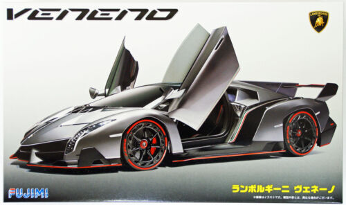 Fujimi RS-30 Lamborghini Veneno DX with Photo Etched Parts 1/24 scale kit