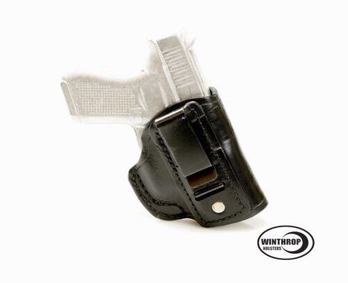 Fits Glock 21 IWB Shield Single Spring Clip Holster R//H Black