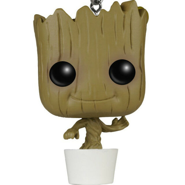 Funko Pocket Pop Marvel Guardians Of The Galaxy Baby Groot In Pot