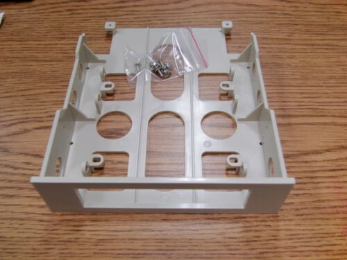 """2 3.5/"""" to 5.25/"""" Open Front  Drive Bay Adapter Tray Bracket w// hardware LOT OF"""