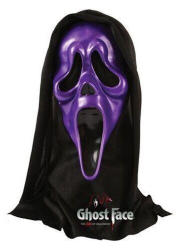 Metallic Ghostface Scream Mask Halloween Fancy Dress Accessory Ghost Face