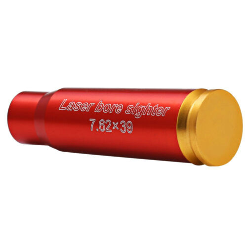 Bore Sighter 7.62x39mm Cartridge Red dot Laser Sight Boresighter Hunting New