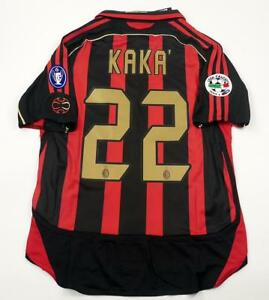 Image is loading AC-MILAN-HOME-RETRO-SHIRT-2006-07-KAKA- 5359cfc55573e