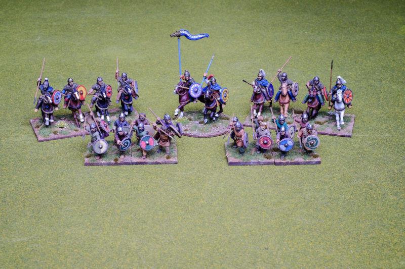 Visigoth Warband Footsore Miniatures SAGA Dark Ages 30GTH902