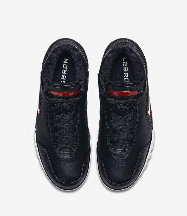 Nike Lebron Lebron Lebron 1 Retro Air Zoom Generation nero bianca 2017 AJ4204-001 w Receipt 979af0