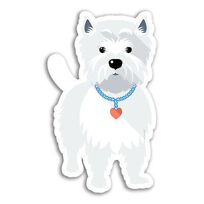 West Highland terrier craft stickers