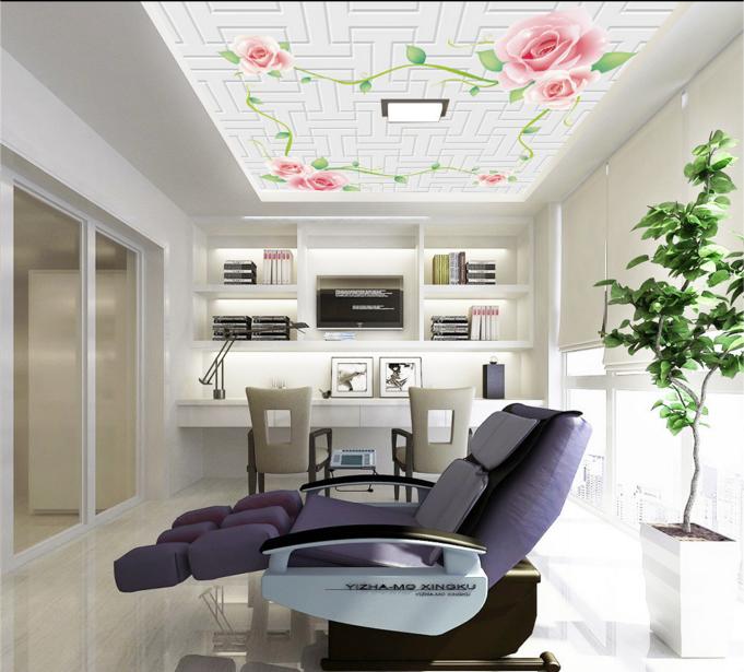 3D Petal Vines 58 Ceiling WallPaper Murals Wall Print Decal AJ WALLPAPER US
