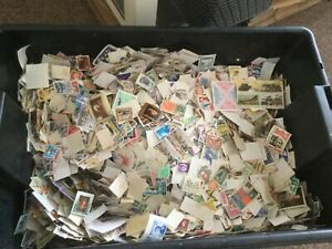 20-000-Stamps-WORLD-OFF-PAPER-KILOWARE-picked-at-random-Lot-1