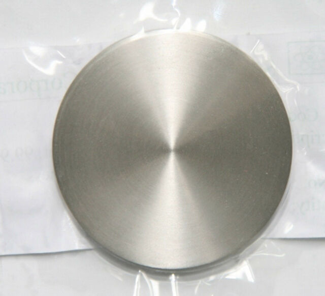 High Purity 99.999% 5N Al Aluminum Sputtering Target Diameter 2'' Thick 2mm #EZ2