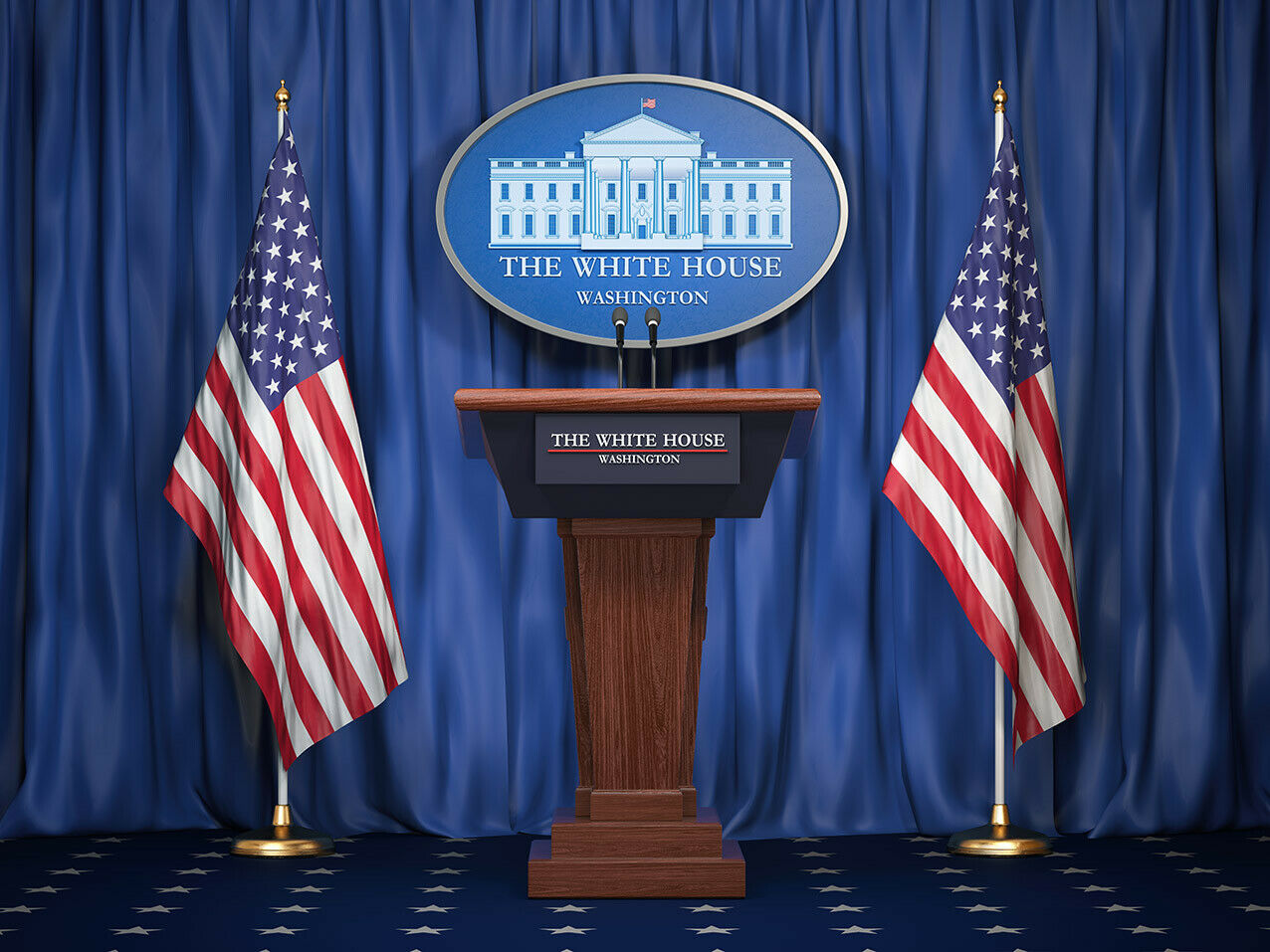 10x8ft Background The President Office White House Photography Backdrop YouTube Backdrops Photo Props Can be Stuck on The Wall LLFU077