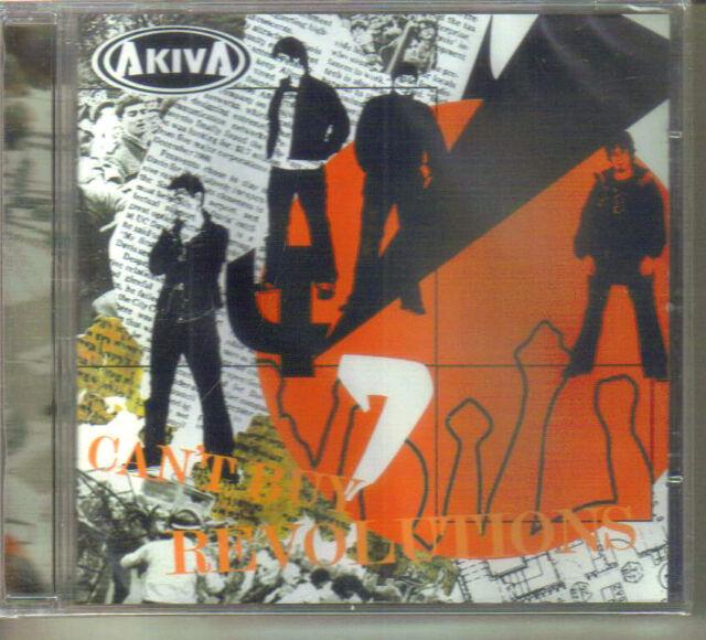 Akiva - Can't Buy Revolutions (2005 CD Album) 11 Trax. Rock/Pop (Brand New)