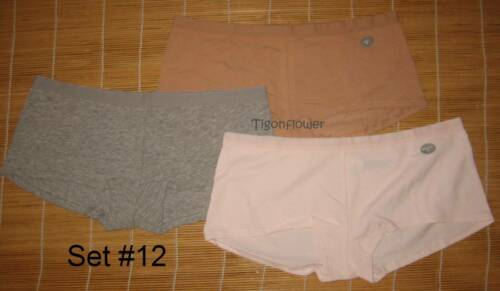 3 Gap Body Love By Gap Cotton Panties Girl Short Shorty Medium M You choose set