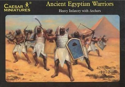 Goed Caesar Miniatures - Ancient Egyptian Warriors - 1:72