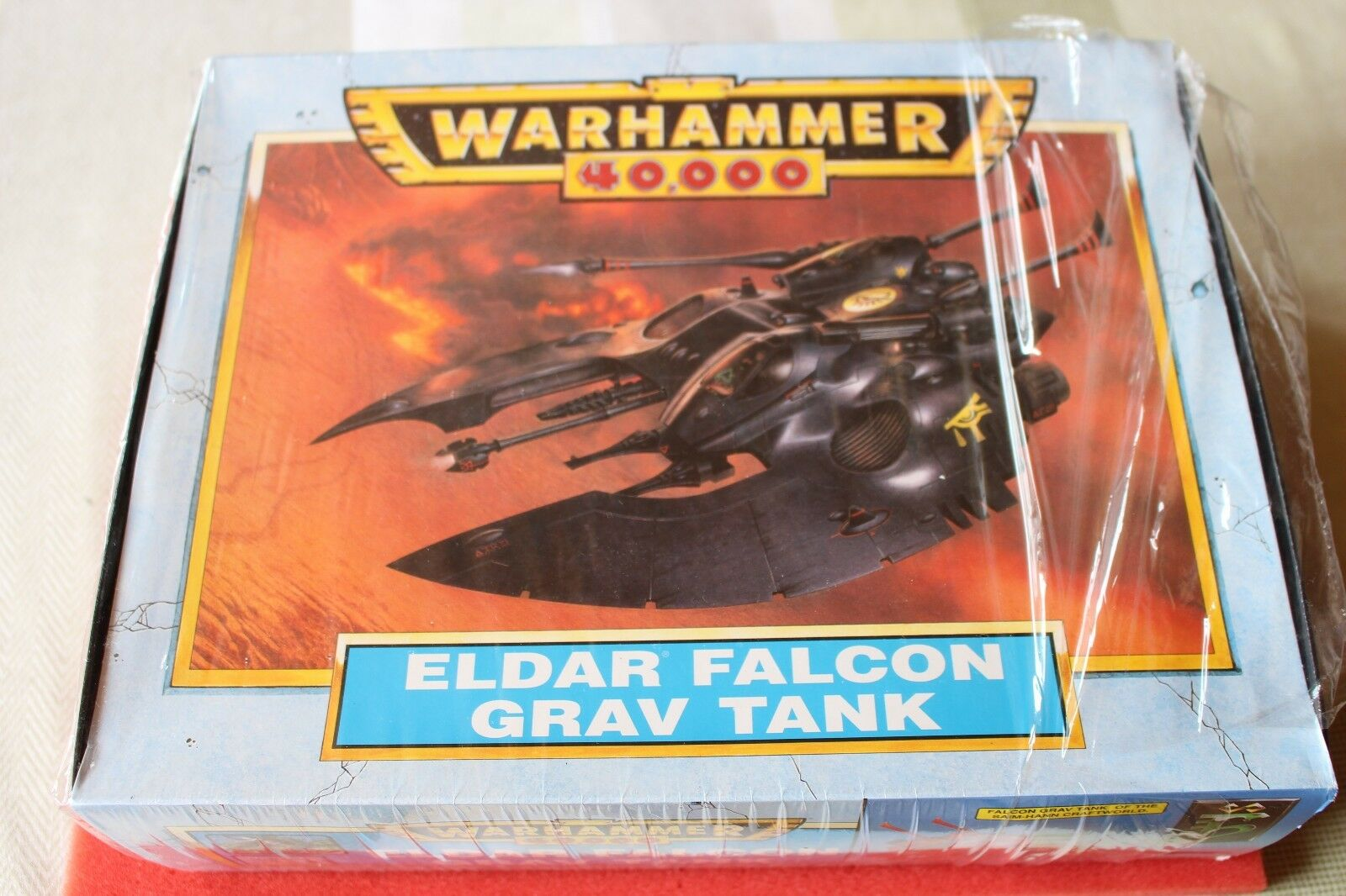 Games Workshop Warhammer 40k Eldar Falcon Grav Tank NIB New Classic Edition 90s