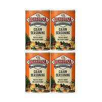 Louisiana Cajun Seasoning 8 Oz (pack Of 4) 8 Oz (pack Of 4) Free Shipping
