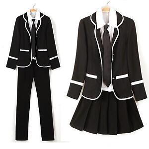 Japan uniform school jacket for cosplay XZ41AD