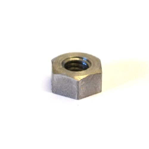Chamfered one side only 1BA Steel Full Nuts GWR Fasteners