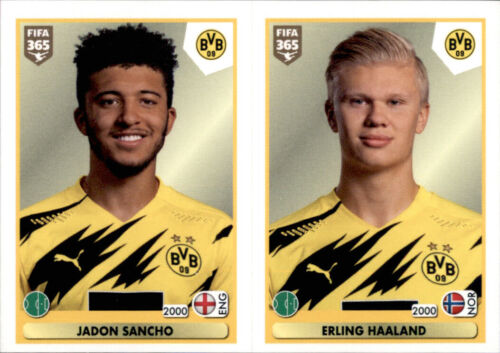 Fifa 365 2021 Sticker 181 Jadon Sancho Erling Haaland