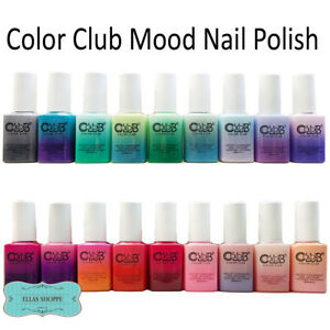 Color Club Mood Changing Nail Polish Assorted Ebay