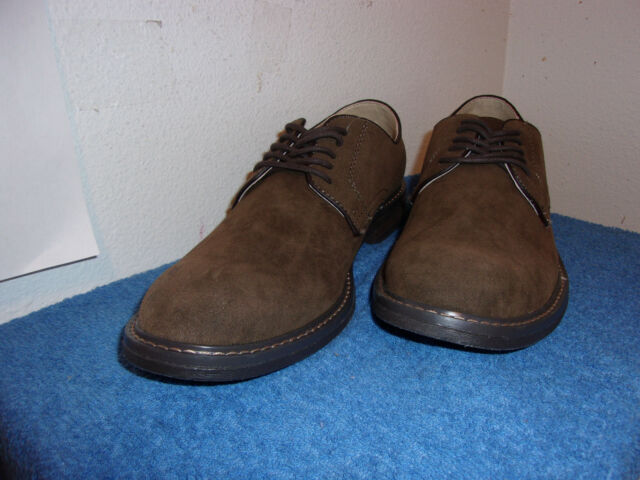 FAUX SUEDE LIKE JAVIER FINISH  SHOES NEW GOODFELLOW MEN/'S OXFORD LACES BROWN