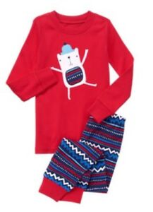 f59797057 NWT Gymboree Boys Polar Bear Royal Red Holiday Christmas Pjs 18-24 M ...