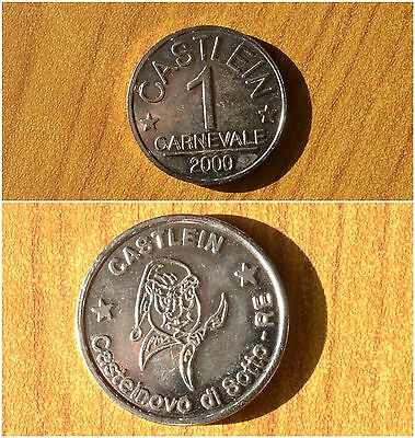 Other Ancient Coins Adroit Gettone Castlein Castelnovo Di Sotto Re 1 Carnevale 2000 Subalpina Always Buy Good